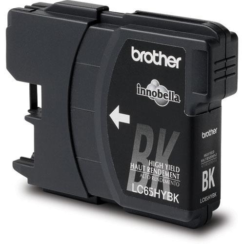 Brother LC65HYB Innobella High-Yield Black Ink Cartridge LC65HYB