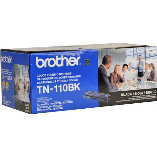 Brother TN-110BK Standard Yield Black Toner Cartridge TN-110BK