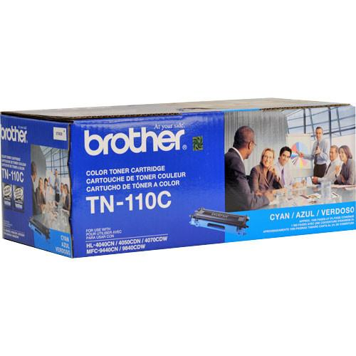Brother TN-110C Standard Yield Cyan Toner Cartridge TN-110C