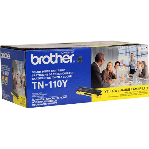 Brother TN-110Y Standard Yield Yellow Toner Cartridge TN-110Y
