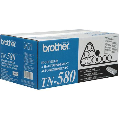 Brother  TN-580 High Yield Toner Cartridge TN580