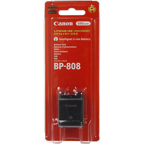Canon  BP-808 Lithium-Ion Battery 2740B002