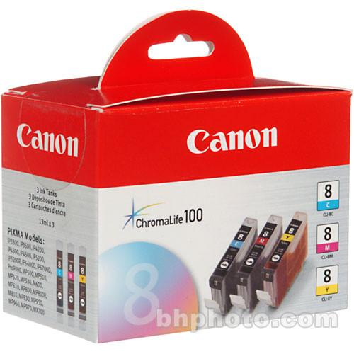 Canon  CLI-8 Ink Tank 3-Pack 0621B016