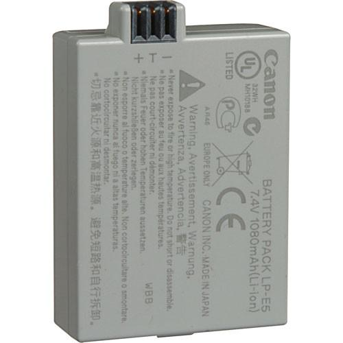 Canon LP-E5 Rechargeable Lithium-Ion Battery Pack 3039B001