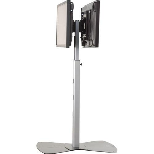 Chief PF2-US Flat Panel Dual Display Floor Stand (Silver) PF2US