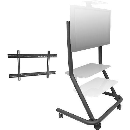 Chief  PPCU Presenters Cart Kit (Black) PPCU