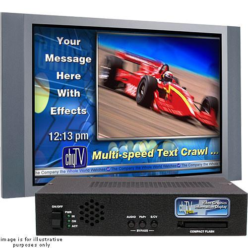 Chytv 7A00268 ChyAlert Plus Video Signage System 7A00268