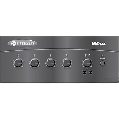 Crown Audio 160MA 4 x 1 60W Commercial Mixer/Amplifier 160MA
