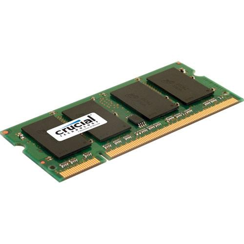 Crucial 1GB SO-DIMM Memory for Notebook CT12864AC800