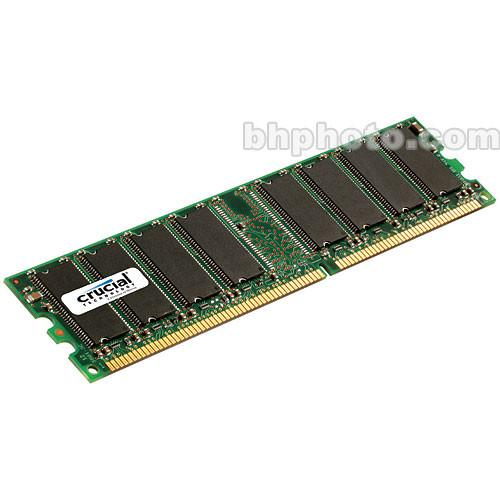 Crucial  512MB DIMM Memory for Desktop CT6464Z40B