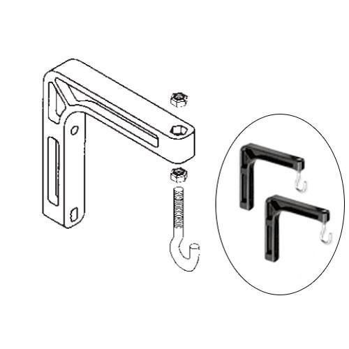 Da-Lite  98035 #6 Wall Mount Brackets 98035
