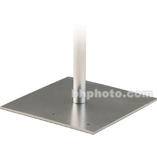 Da-Lite Flat Steel Base with Mounting Stud for Pipe and 35302