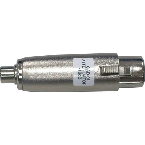Datavideo  CAD-01 XLR to RCA Attenuator CAD-01