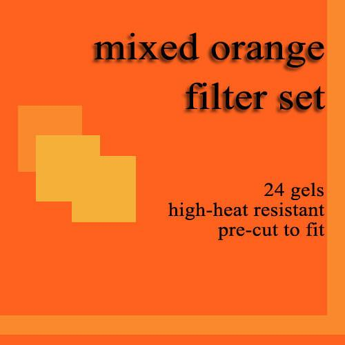 Dedolight 24 Mixed Orange Gel Filters for DBD8 DGMO8