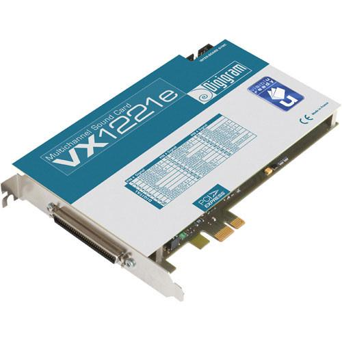 Digigram VX1221e - PCIe Digital Audio Card VB1875A0301