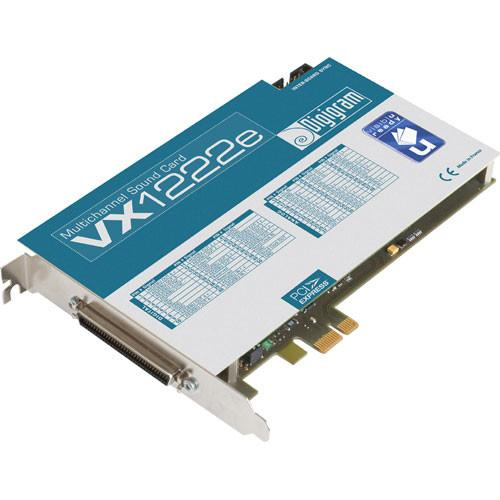 Digigram VX1222e - PCIe Digital Audio Card VB1877A0301