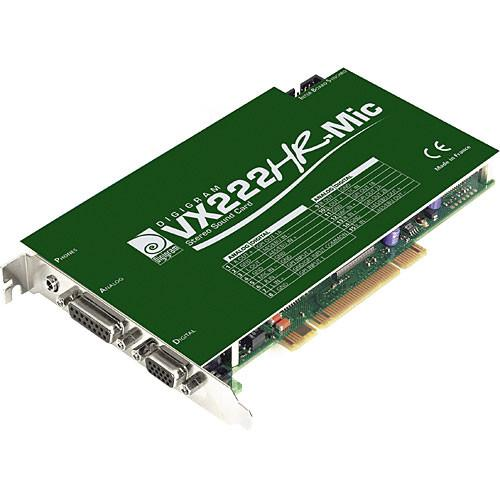 Digigram VX222HR with Mic Input - PCI Universal VB1827A0201
