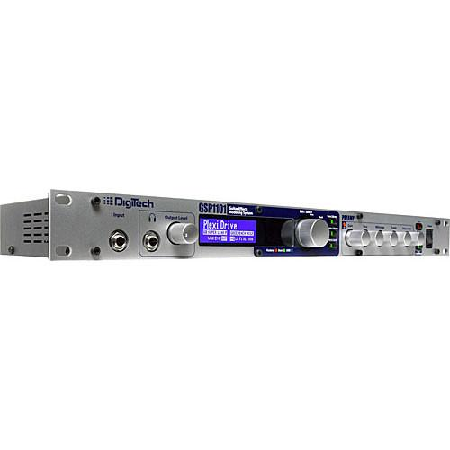 DigiTech GSP1101 Rack Mount Guitar Preamp/Processor GSP1101