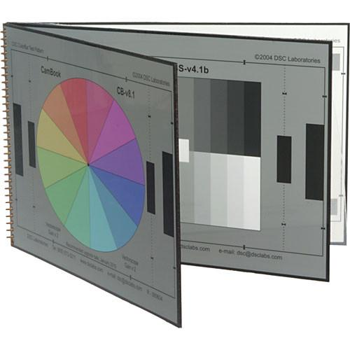 DSC Labs Cambook-5 Grayscale Portable Chip Chart CK5
