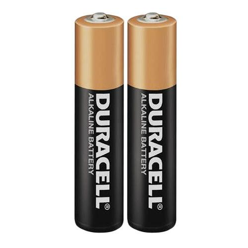 Duracell AAA 1.5V Alkaline Coppertop Battery (2-Pack) MN2400B2