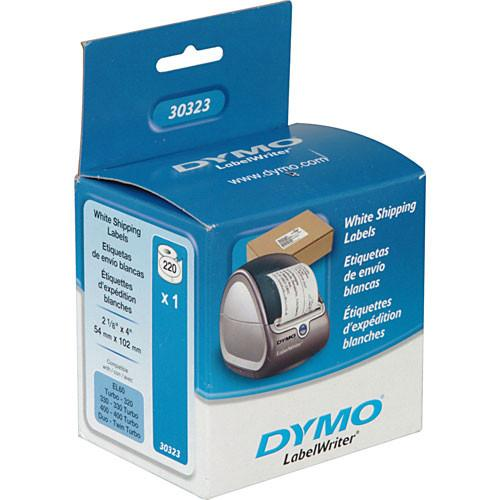 Dymo 30323 White Shipping Labels (2-1/8 x 4