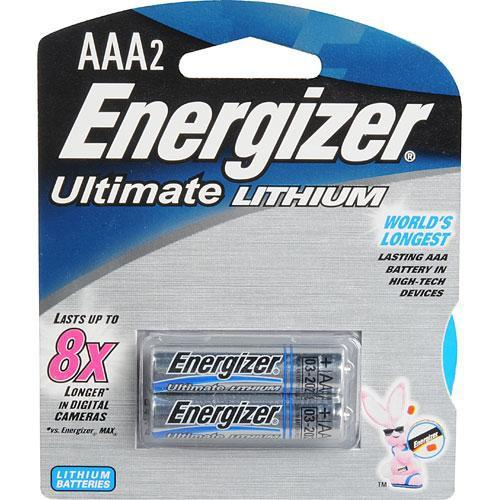 Energizer Ultimate Lithium AAA Batteries (2 Pack) 57-EUL3A2D