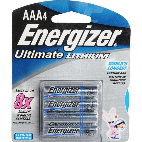 Energizer Ultimate Lithium AAA Batteries (4 Pack) 57-EUL3A4D