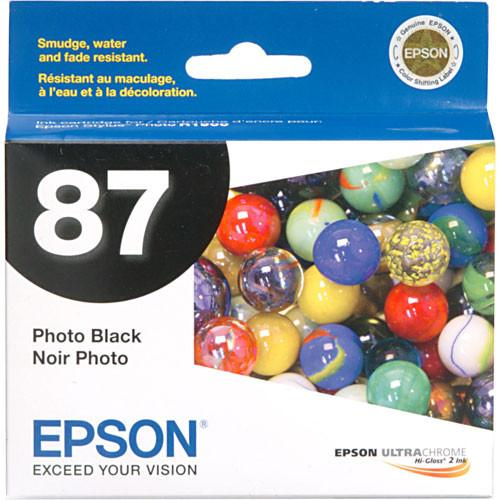 Epson  87 Photo Black Ink Cartridge T087120