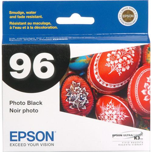 Epson 96 UltraChrome K3 Photo Black Ink Cartridge T096120