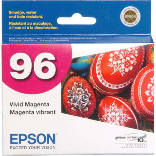 Epson 96 UltraChrome K3 Vivid Magenta Ink Cartridge T096320