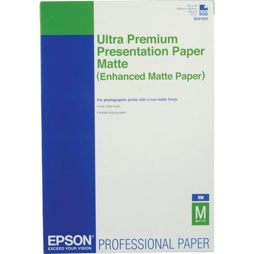 Epson Ultra Premium Presentation Paper Enhanced Matte S041605