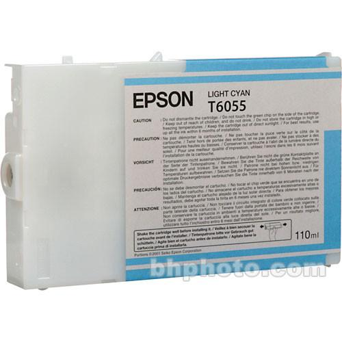 Epson UltraChrome K3 Light Cyan Ink Cartridge (110 ml) T605500