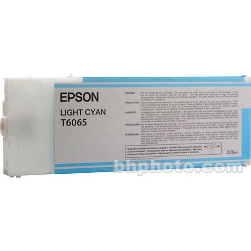 Epson UltraChrome K3 Light Cyan Ink Cartridge (220 ml) T606500