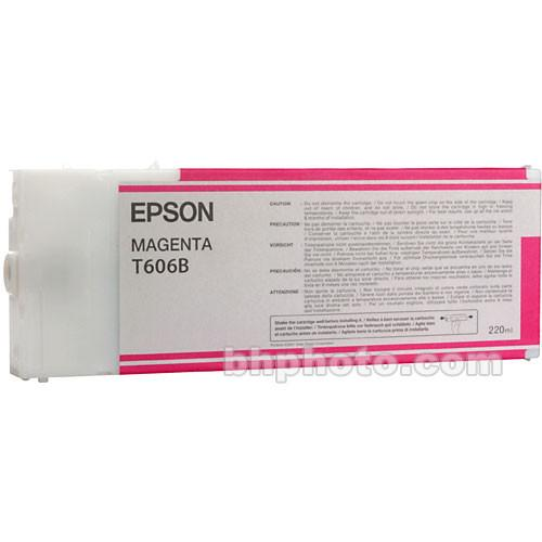 Epson UltraChrome K3 Magenta Ink Cartridge (220 ml) T606B00