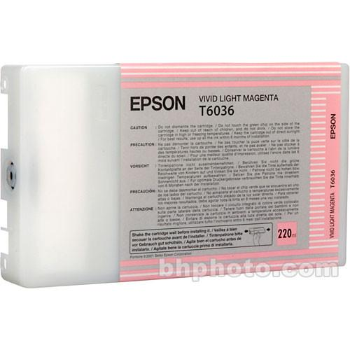 Epson UltraChrome K3 Vivid Light Magenta Ink Cartridge T603600