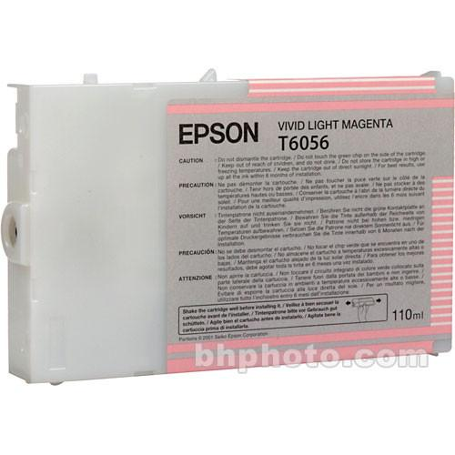 Epson UltraChrome K3 Vivid Light Magenta Ink Cartridge T605600
