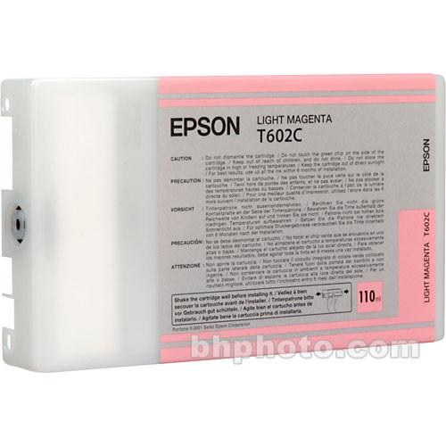 Epson UltraChrome Light Magenta Ink Cartridge (110ml) T602C00