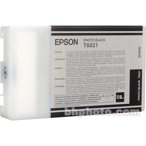 Epson UltraChrome Photo Black Ink Cartridge (110ml) T602100