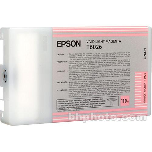 Epson UltraChrome Vivid Light Magenta Ink Cartridge T602600