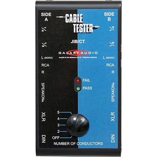 Galaxy Audio JIB/CT Jacks in the Box Cable Tester JIB/CT