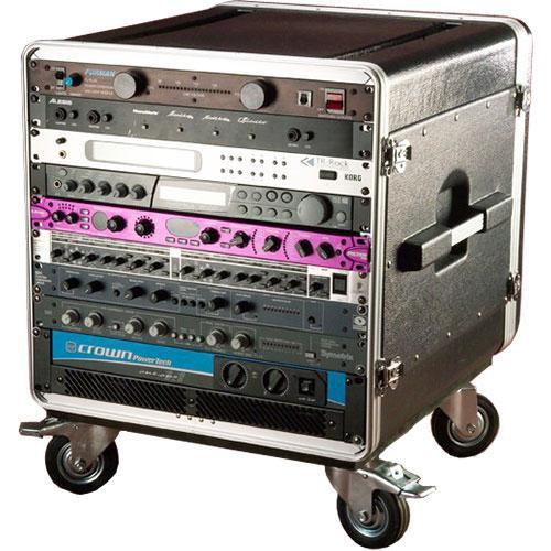 Gator Cases GRC-BASE-14 Deluxe Console Rack Case GRC-BASE-14