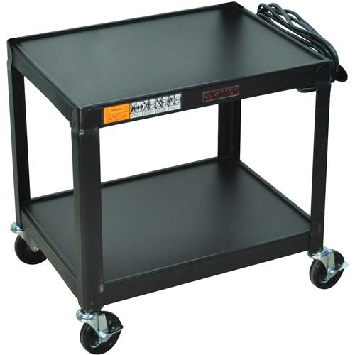 H. Wilson W26E Fixed Height Utility Cart - 24 x 26 x W26E