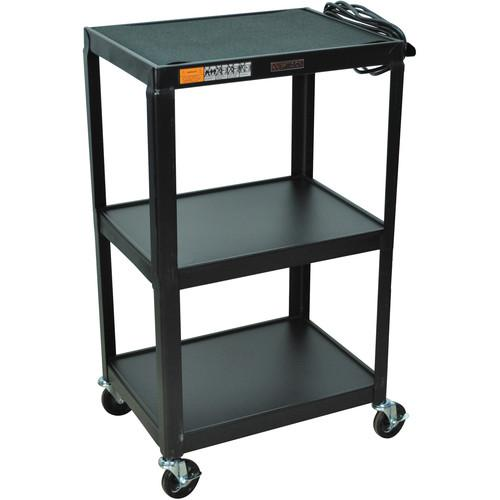 H. Wilson W42E Fixed Height Utility Cart - 24 x 42 x W42E