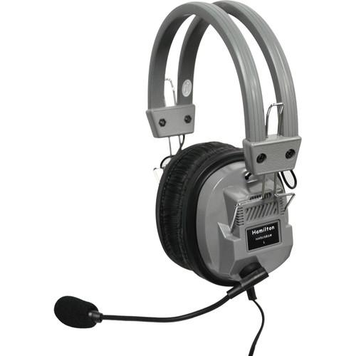 HamiltonBuhl Deluxe USB Headset with Microphone, In-Lin HA5USBSM