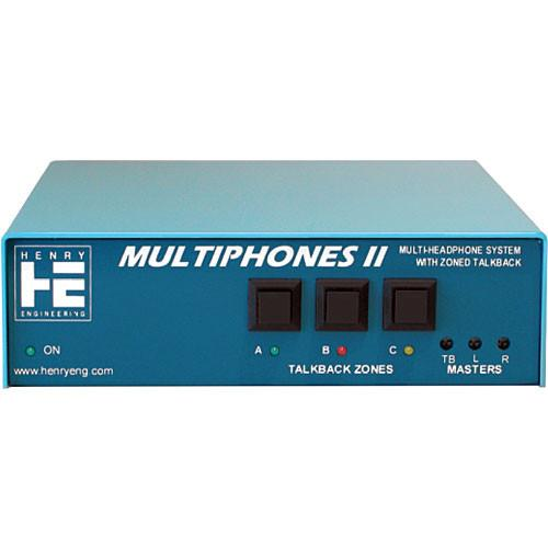 Henry Engineering MultiPhones II - Multi-User Distributed MF2