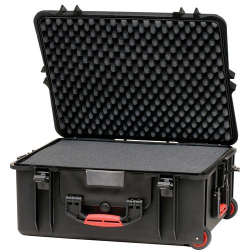 HPRC 2700WF Wheeled Hard Case with Cubed Foam HPRC2700WFBLACK