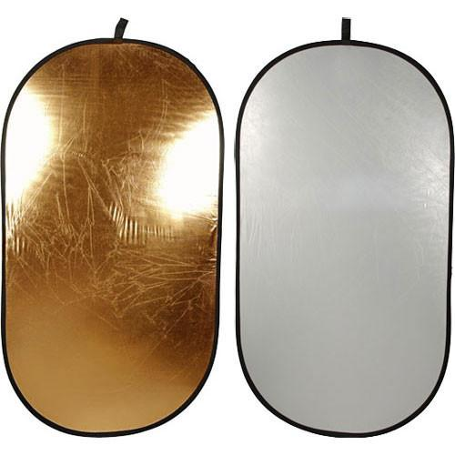 Impact Collapsible Oval Reflector Disc - Gold/Silver - R184174