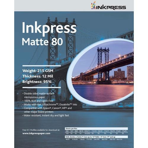 Inkpress Media  Duo Matte 80 Paper PP801114100