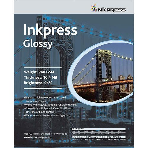 Inkpress Media Photochrome RC U-Glossy Paper - PCUG60100