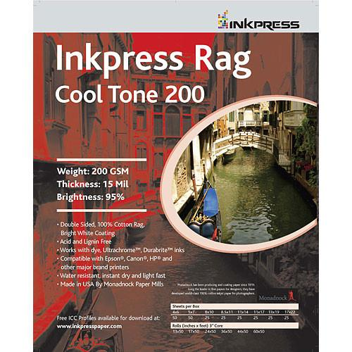 Inkpress Media Picture Rag Cool Tone Paper - PRCT2006050